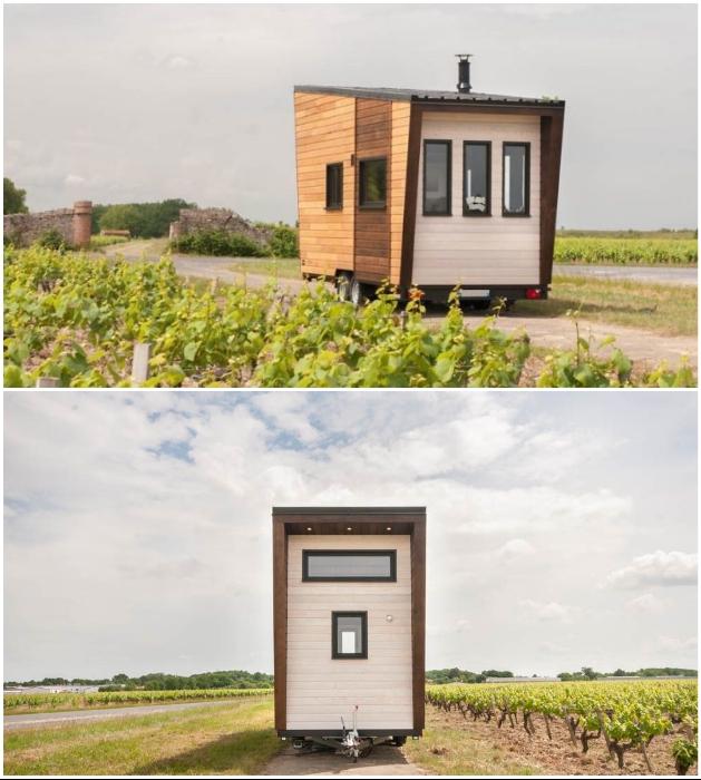 Нестандартная конструкция позволила выполнить все требования по габаритам («Intrepide», Франция). videoondaylike. | Фото: blogspot.com/ © Vincent Bouhours.