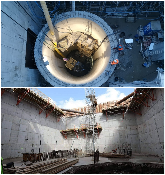 Специальная марка цемента хорошо подходит для строительства бетонных элементов и конструкций в гидротехническом и подземном строительстве. | Фото: notesfrompoland.com/ definition.org.