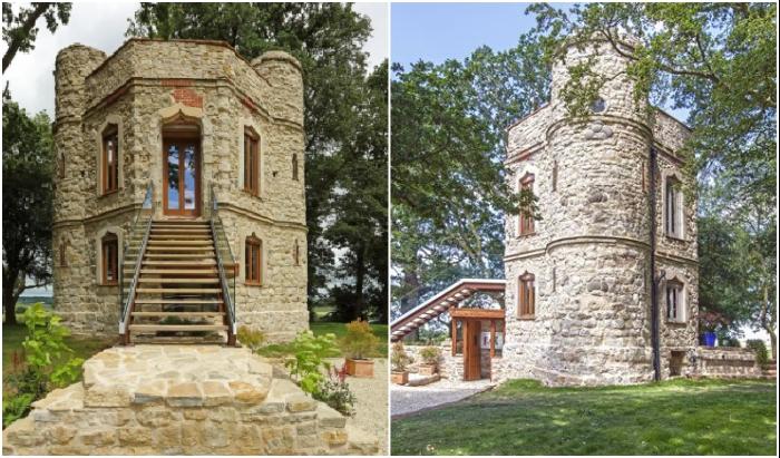 Так теперь выглядит историческое здание, которое превратили в собственный замок «Aylesbury Vale Buckinghamshire». | Фото: homesandproperty.co.uk.