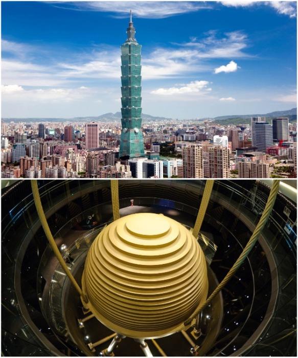 Небоскреб Тайбэй признан одним из семи технических чудес света (Тайвань). | Фото: orangesmile.com.