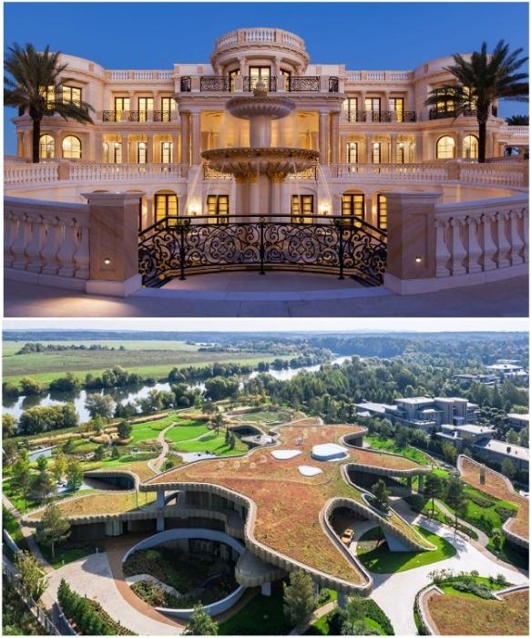 При проектировании собственного дома каждый волен выбирать сам: стилизацию под Версаль или гармоничное слияние с природой. | Фото: businessinsider.com /novate.ru.