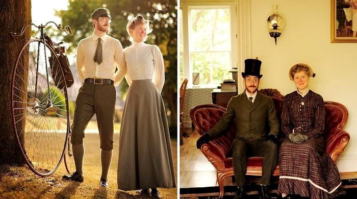 Габриэль и Сара Крисман отказались от современных благ и живут по традициям XIX века (США).