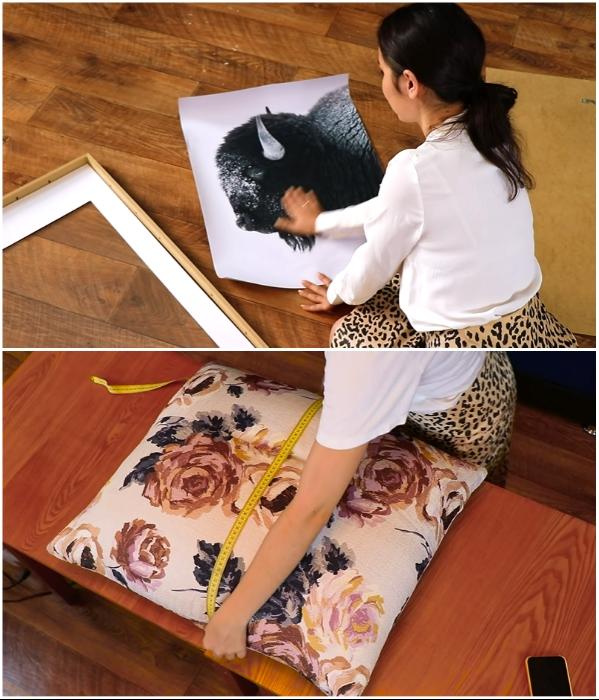 Элементы декора креативная девушка сделала собственными руками. | Фото: youtube.com/ © Fancy smth.