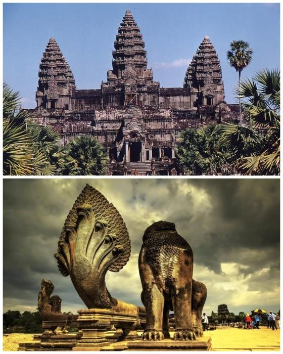 В 1992 г. храмовый комплекс Ангкор-Ват внесен в список Всемирного наследия ЮНЕСКО (Камбоджа). | Фото: planetaduha.com.