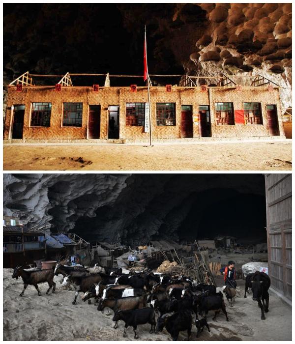 Благодаря Фрэнку Беддору в деревне Чжундун появилась электричество, телевидение, школа и породистый скот. | Фото: fishki.net.