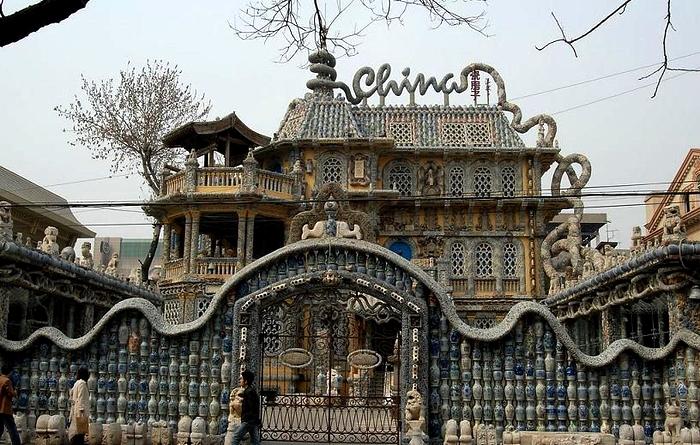 Единственный в мире фарфоровый замок (Тяньцзинь, Китай).