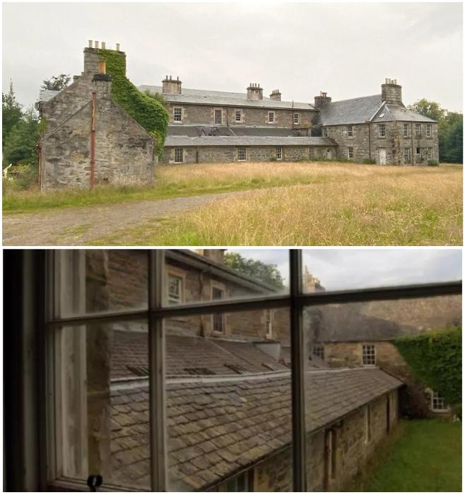 Летний домик Коко Шанель более 60 лет уже стоит заброшенным («Rosehall Estate», Шотландия). | Фото: funnystorya.ru/ deadlinenews.co.uk.