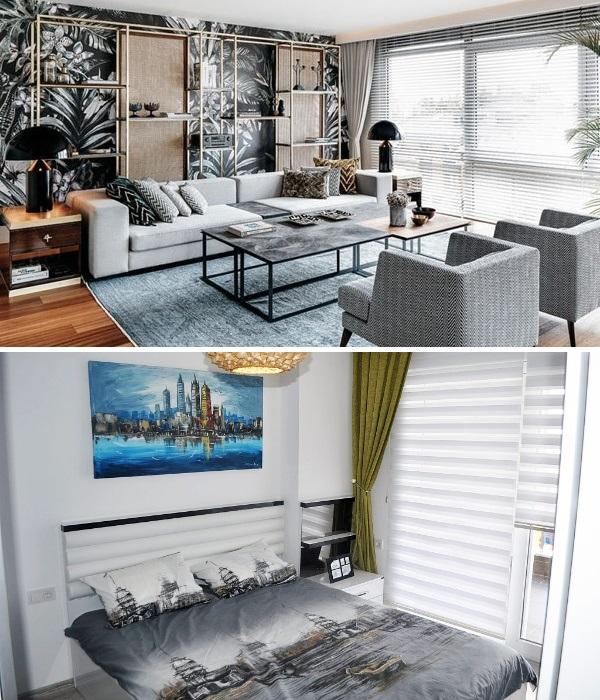 Даже самая маленькая и бюджетная квартира Турции должна иметь изолированную спальню. | Фото: rentalanya.online/ interiorizm.com.