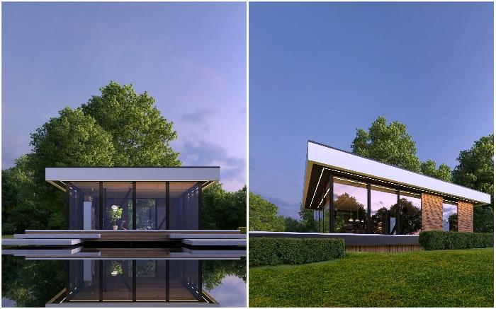 Проект Fachwerk house – ощущение свободы и легкости.