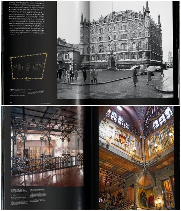 Книга о творениях великого архитектора составлена в виде визуального тура по Барселоне и некоторым другим достопримечательностям («Гауди: Полное собрание сочинений»). | Фото: mymodernmet.com.