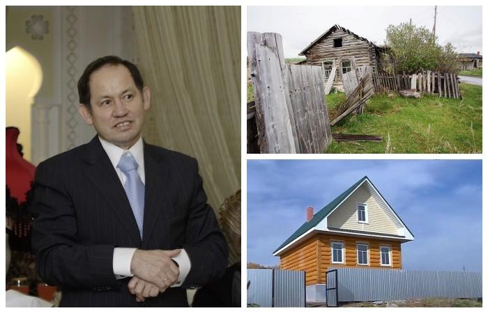 Камиль Хайруллин планирует построить дома для тех, кто согласится развивать его родную деревню Султаново (Челябинская область).