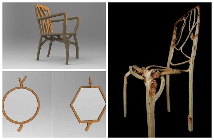 Мебель выращенная собственными руками приобретает особую ценность.