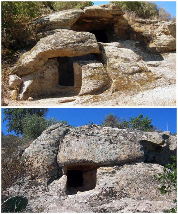 «Дома фей» самые удивительные мегалитические каменные постройки, найденные на территории Италии. | Фото: orangesmile.com.