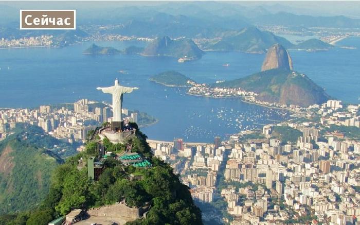 Ультрасовременный город Бразилии.