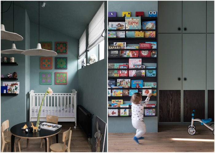 Детская комната младшего сына (Wabi Sabi Apartment).
