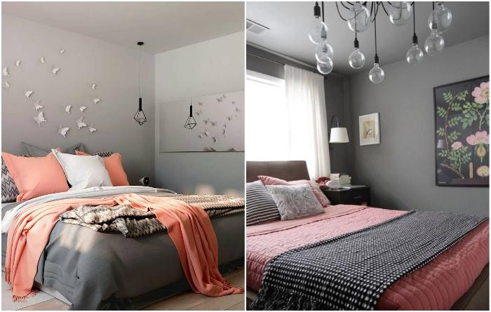 Интерьер в серых тонах никогда не будет скучным, если добавить несколько ярких штрихов. | Фото: pinterest.com<br>/stroy-podskazka.ru.