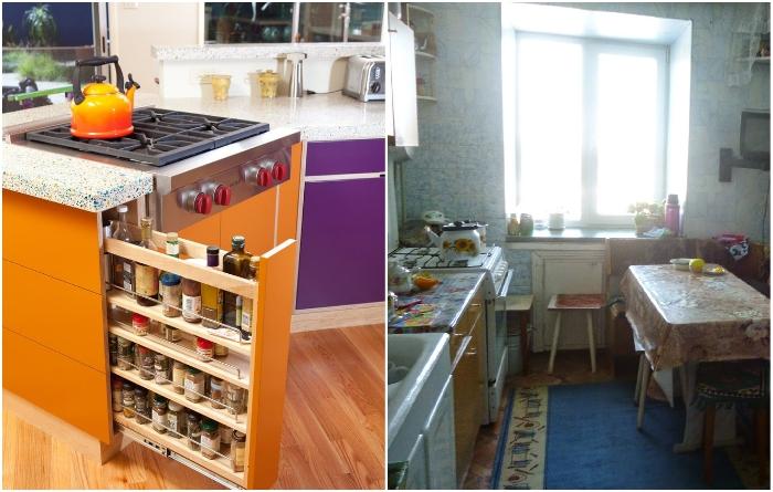 Обустраивать кухню частями недопустимо. | Фото: epairdoit.blogspot.com/ kitchenguide.su.