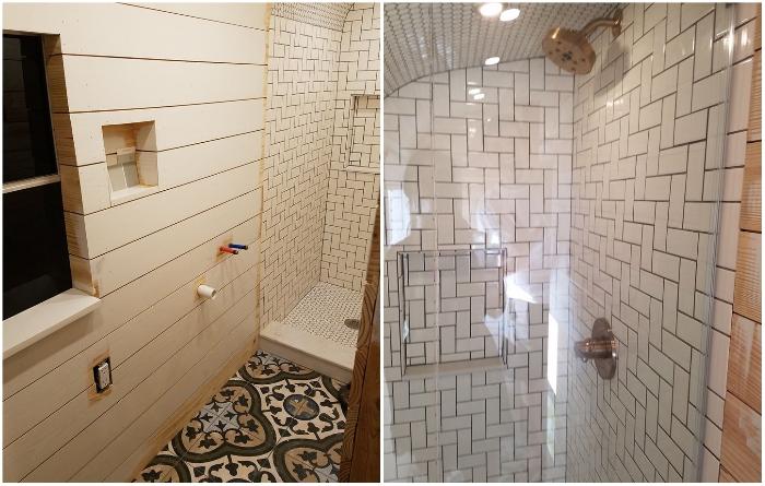 Рядом со спальной обустроили довольно стильную ванную комнату. | Фото: instagram.com/ © going_boundless.