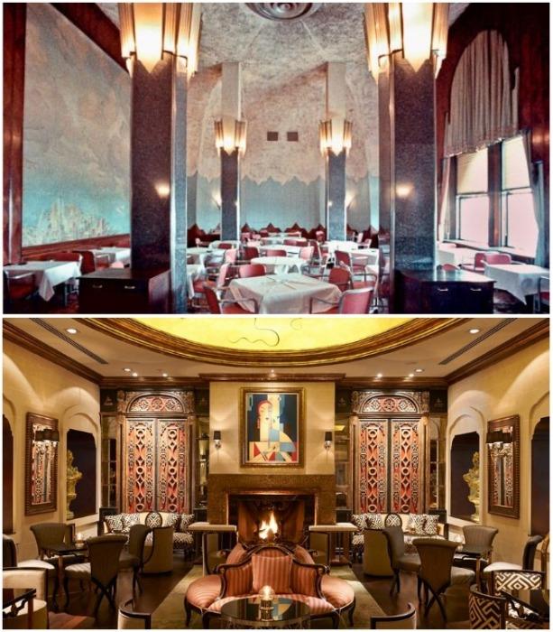 Роскошное убранство интерьера до сих пор вызывает восхищение (Chrysler Building, Нью-Йорк). | Фото: marbellaclub.com.