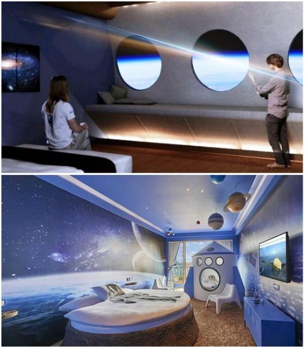 Из каждого отельного номера можно будет наблюдать не только за Землей, но и всей Галактикой. | Фото: justus.com.ua.