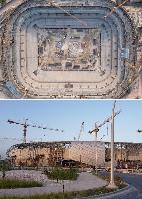 Строительство близится к финалу Education City Stadium (Эдьюкейшн Сити, Катар ЧМ-2022). | Фото: qa.linkedin.com.