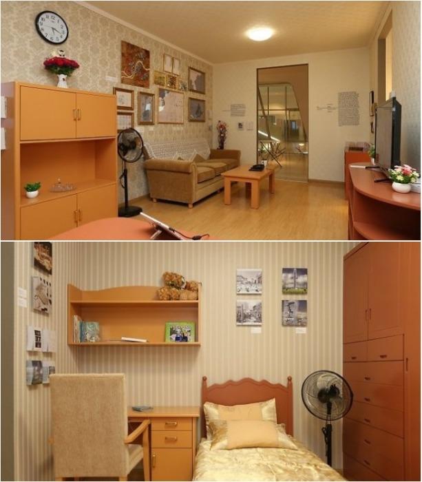 Такую квартиру смог позволить себе профессор государственного архитектурного университета в Пхеньяне. | Фото: realty.tut.by.