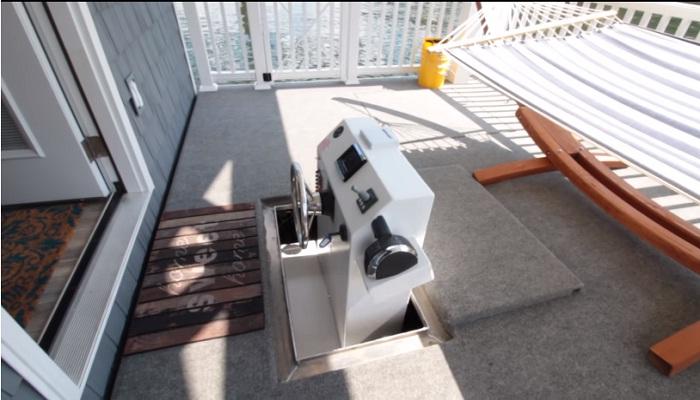 Система управления домом на воде.