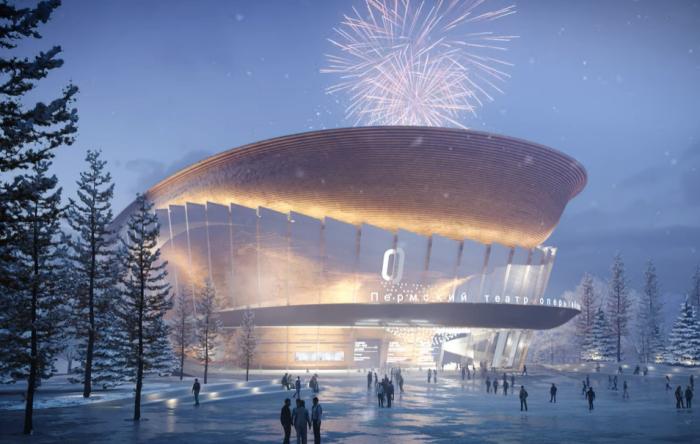 Открытие нового Пермского академического театра оперы и балета запланировано на июнь 2023 г. | Фото: youtube.com/ © Perm Opera Ballet Theatre.