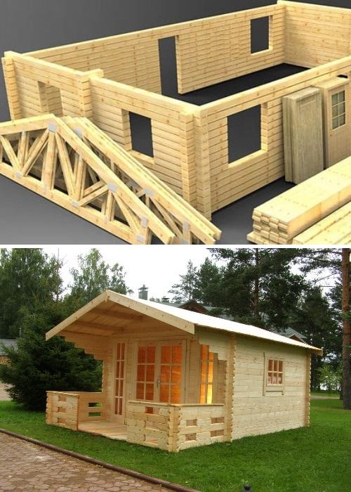 Дома купленные на amazon.com требуют сборки и дополнительных капиталовложений. | Фото: domsdelat.ru.