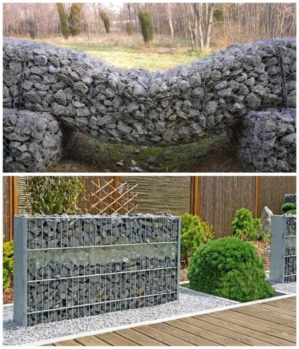 Пергоны, которые создаются по такому же принципу как и стены, помогут зонировать и украсить участок. | Фото: stylemaster.com.ua.