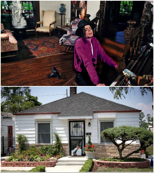 Дом в Гэри, штат Индиана, в котором много лет прожила большая семья Джексонов и сам «Король поп-музыки».
