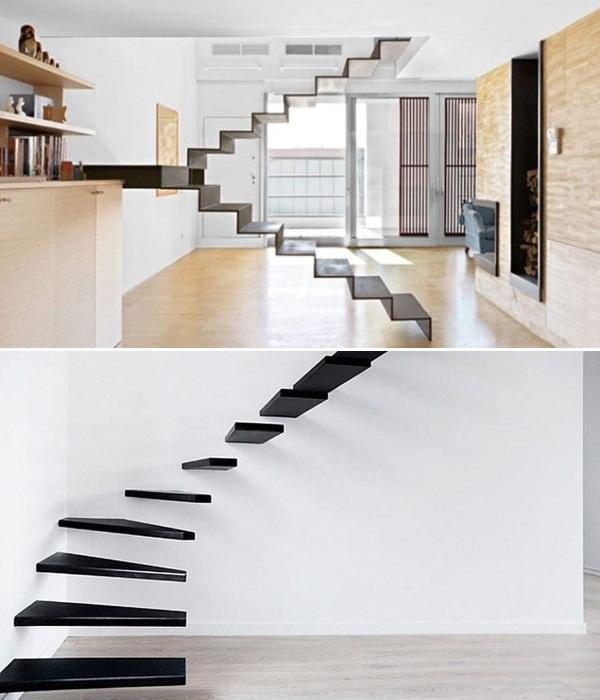 Эта лестница может стать впечатляющим арт-объектом. | Фото: initial.com.ua.