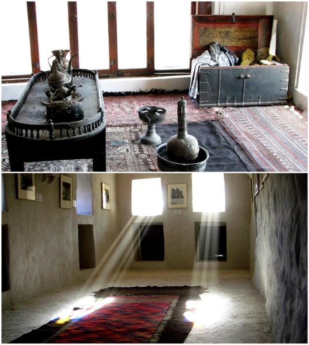 Одни из самых богато обставленных апартаментов «Замка Имама» («Dar al-Hajar», Йемен).