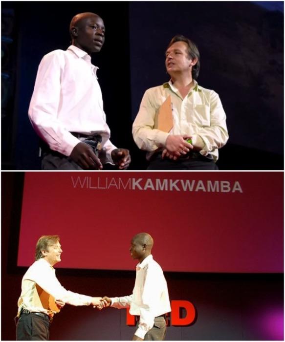 Выступление Уильяма на конференции TEDGlobal.  | Фото: untoldafrica.com.