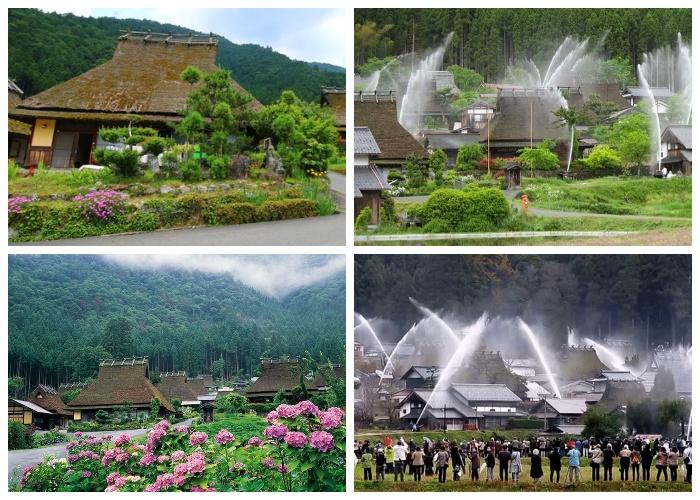 Деревня Каябуки-но Cато и ее уникальная противопожарная система. | Фото: japanhoppers.com.