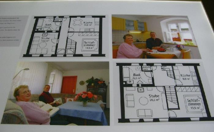 Так выглядит план-схема квартир в Фуггерай.