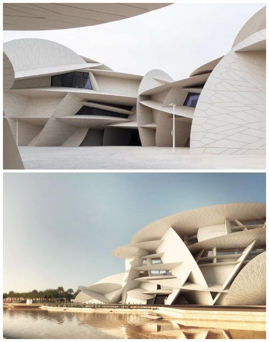 Уникальный проект Национального музея Катара уже признан «самым необычным зданием десятилетия». | Фото: taratutenko.ru.