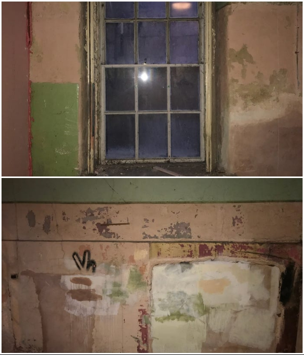 В этой части подвала планировалось обустройство спальни. | Фото: insider.com/ boredpanda.com, © Jamie Barrow.