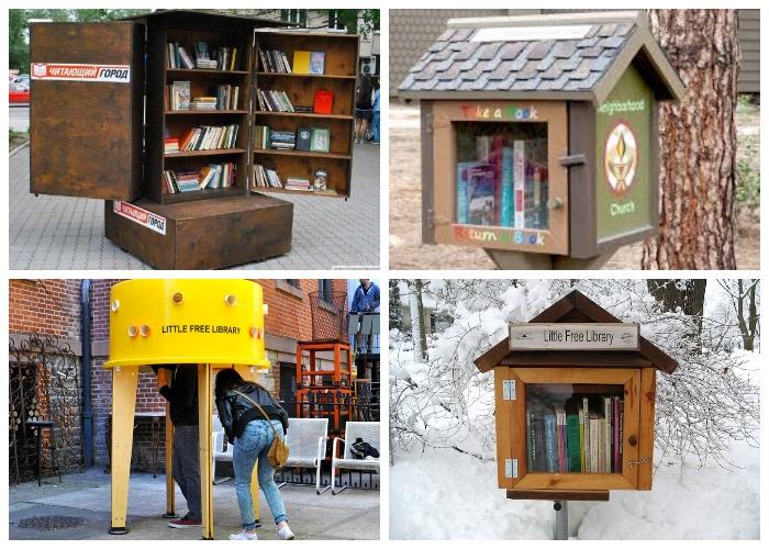 Уже более 80 стран мира поддержали проект «Маленькая бесплатная библиотека» (Little Free Library).
