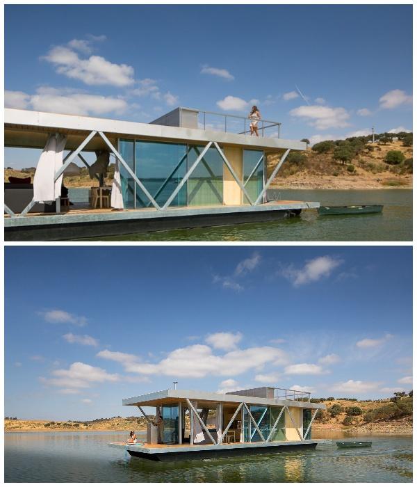 Модульный дом Floating House (Португалия). | Фото:  Jose Campos Architectural Photographer.