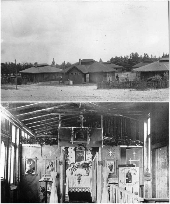 Поселение русских эмигрантов и церковь, которую они построили сами (Вюнсдорф, Германия). | Фото: telegraf.com.ua.