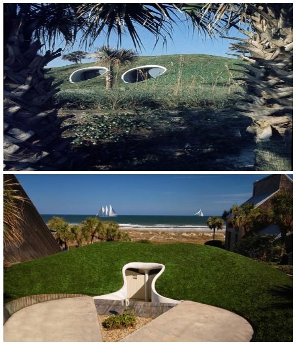 Нестандартное видение красоты от американского архитектора Уильяма Моргана (Флорида, США). elledecoration.ru.