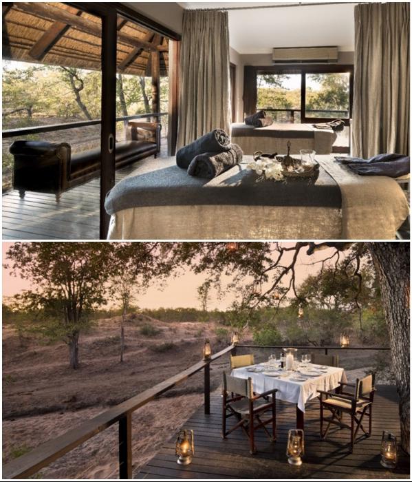 Эко-лагерь «Ngala Private Game Reserve» относится к сети 5-звездочных отелей «AndBeyond» (Kruger National Park, ЮАР). | Фото: oxfordprivatetravel.com.