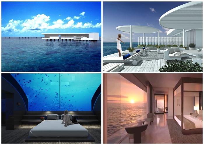 Восхитительный отдых на подводной вилле Muraka (Мальдивы).