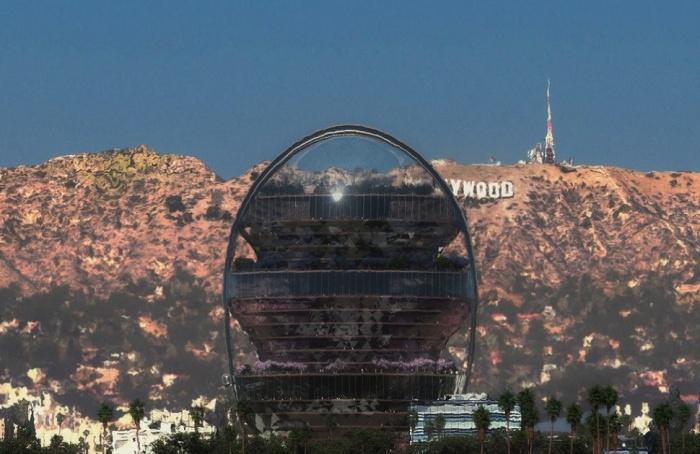 Офис-будущего «Звезда» станет новой достопримечательностью Голливуда (концепт MAD Architects). | Фото: archdaily.com.