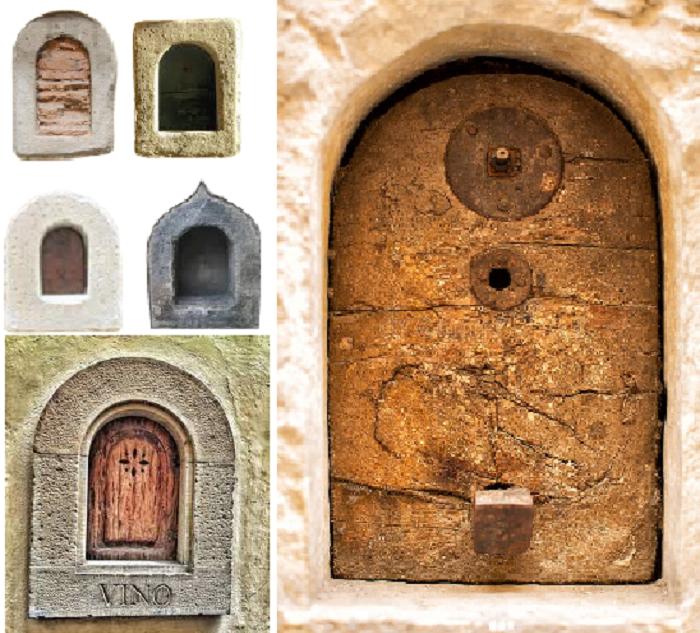 В Тоскане сохранилось около 150 средневековых люков «buchette del vino». | Фото: storienogastronomiche.it.