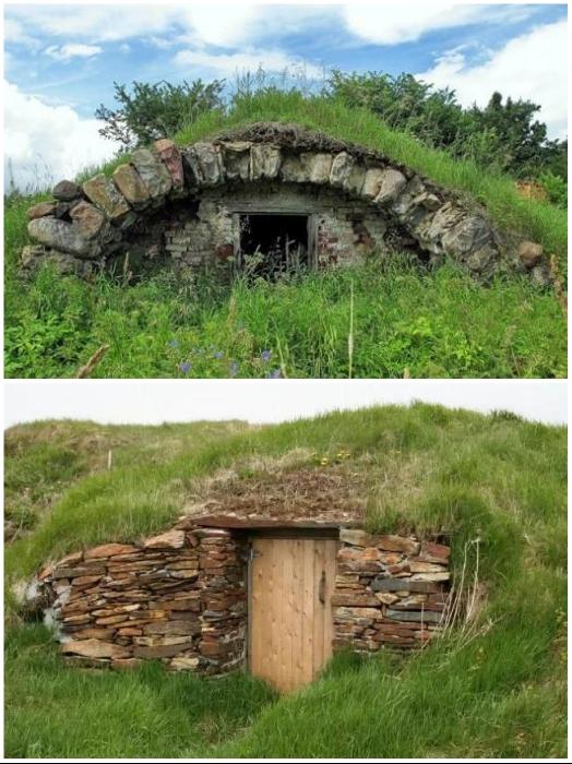 Несколько столетий ледяные погреба прятались в буквальном смысле под землю. | Фото: author.today.