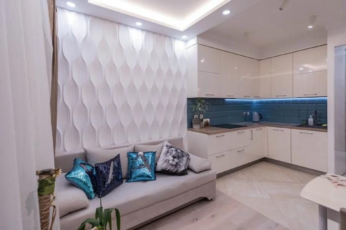 Дизайн интерьера кухонной зоны. | Фото: hit.miformat.info.