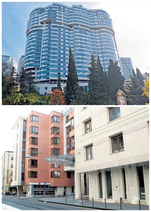 Дом в Сочи,  в котором пара имеет три резиденции, а также квартира площадью в 516 кв. метров в центре Москвы (Недвижимость Петросяна и Степаненко).