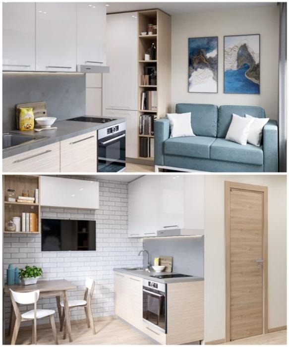 Для студента или одинокого человека даже такая квартира куда лучше, чем комната в общежитии (Москва, Россия). | Фото: novostroyki.org.